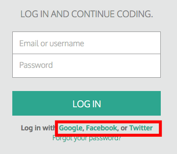 Trouble Resetting your Password – Codecademy Help Center